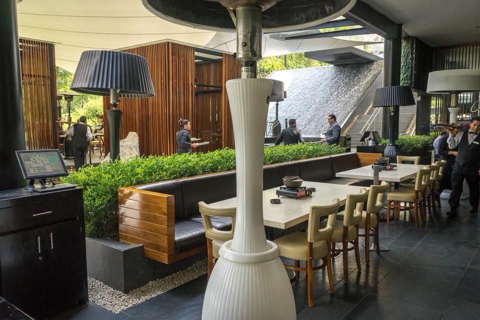 Restaurantes con terrazas en la CDMX