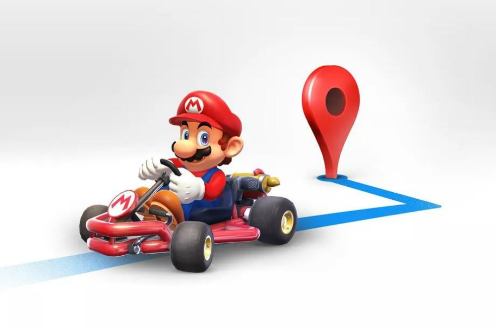 Ahora podrás ser Mario en Google Maps