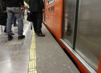 Tren del Metro golpeó a usuario que rebasó la línea amarilla