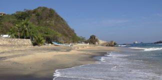 Playas para acampar Mazunte