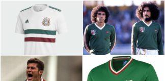 playeras de la Selección Mexicana