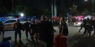 #VIDEO: Polis golpean a fans de Depeche Mode