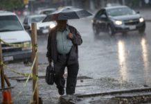 lluvias fuertes en la CDMX