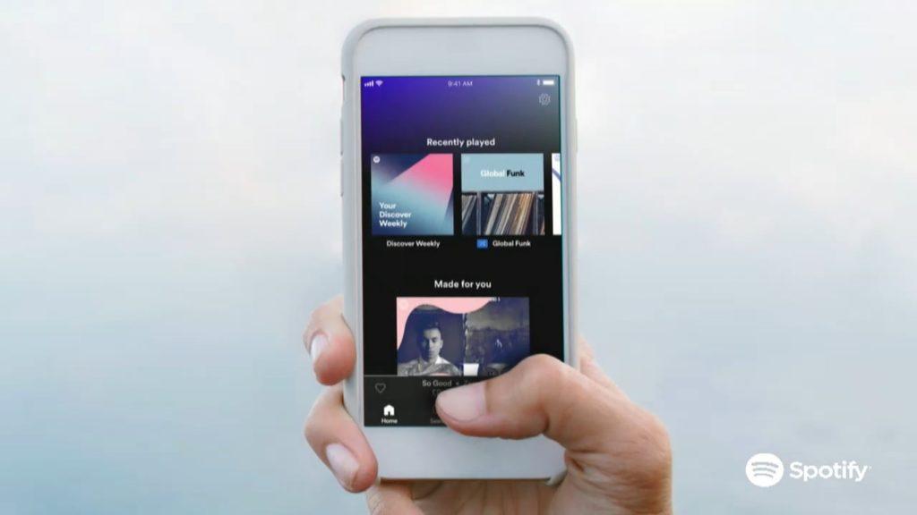 Spotify anuncia mejoras en su versión free y premium