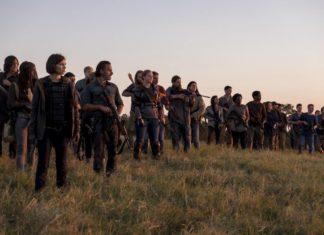 final de temporada de The Walking Dead