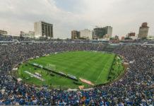 Estadio del Cruz azul en Tlalnepantla
