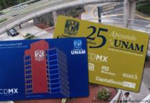 tarjeta del metrobús conmemorativa de la unam
