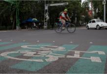 ciclovía en Azcapotzalco