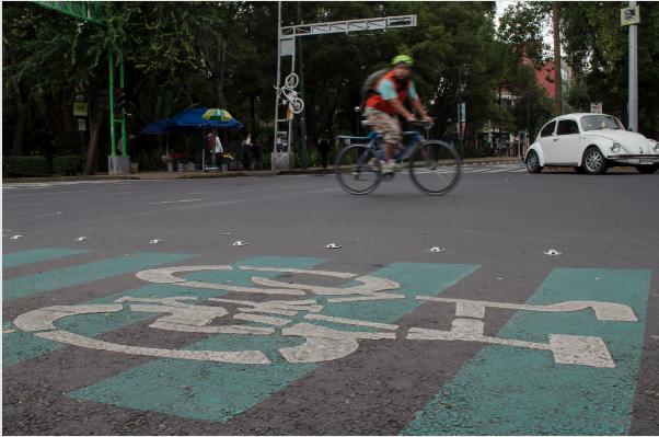 Así será la ruta de la ciclovía que irá de Naucalpan a Azcapotzalco