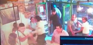 asalto a cafetería