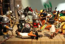 expo de culturas de Playmobil