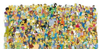 fiesta de Los Simpsons