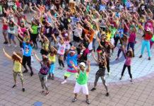flashmob en la UNAM