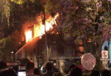 La noche de este miércoles 25 de abril se registró un incendio en la Universidad de Londres campus Luis Cabrera. Los bomberos ya controlaron la situación.
