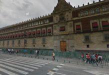 sesión de fotos en Palacio Nacional