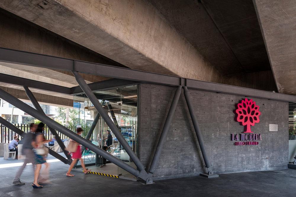 restaurantes bajo puentes en la cdmx