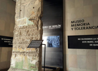Muro de Berlín en CDMX