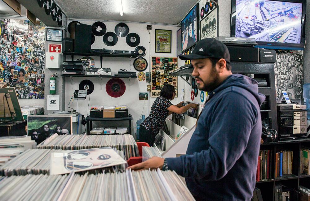 Tiendas de discos en CDMX