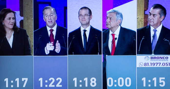 primer debate presidencial