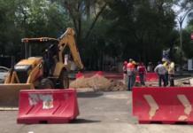 nuevo socavón en Reforma y Humboldt