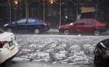 lluvia y granizo en la Ciudad de México