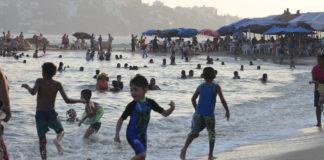 bacteria fecal en playas de Acapulco