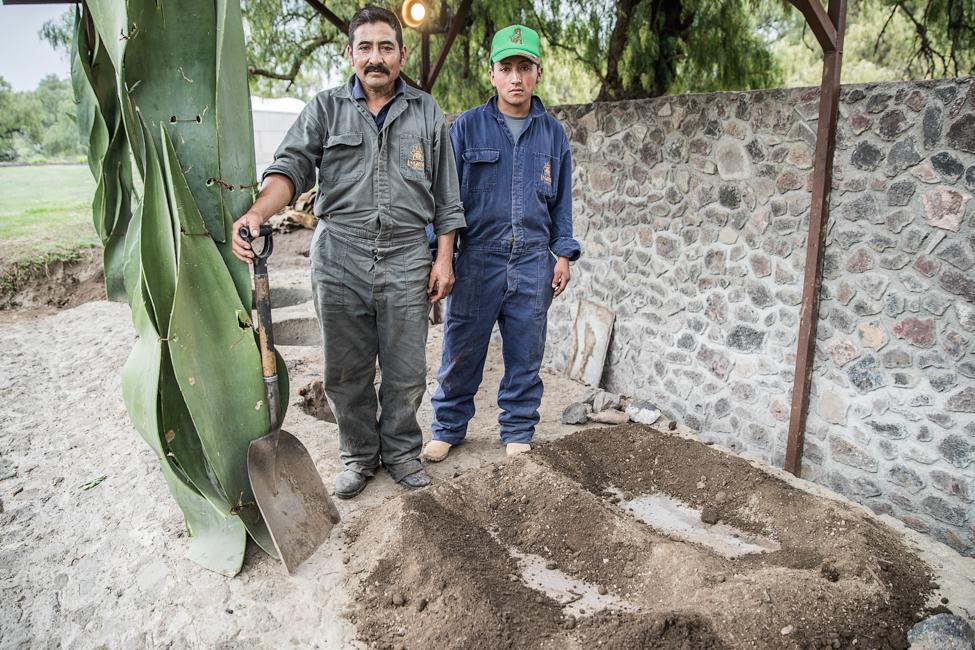 Barbacoa en Teotihuacán