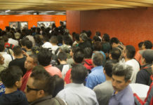 Multas en el Metro