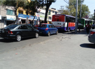 Cierre en la México Cuernavaca provocó caos vial en Tlalpan