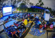 cine al aire libre en la CDMX
