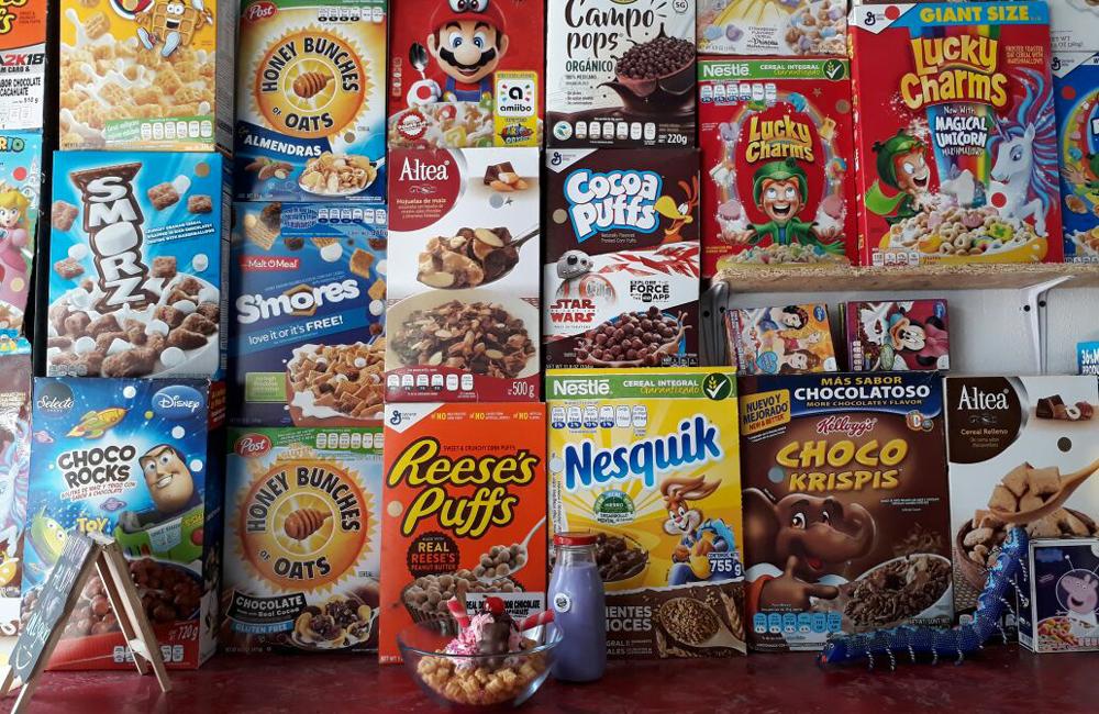 Cereal Bar en CDMX