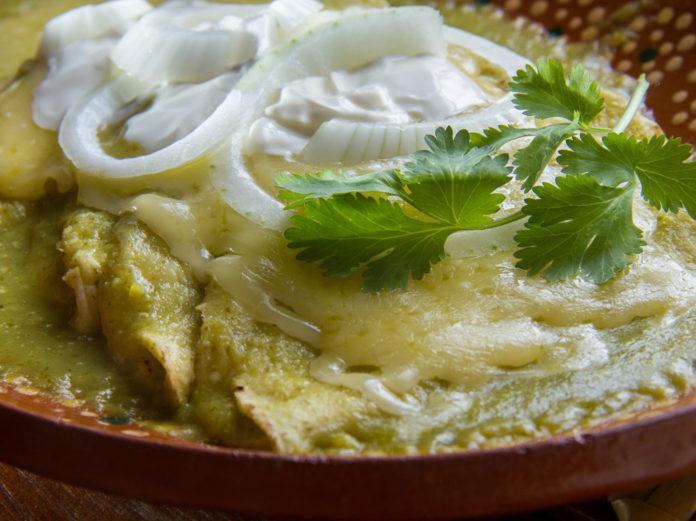 Enchiladas en CDMX