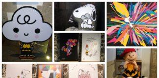 expo de Snoopy en el Mumedi