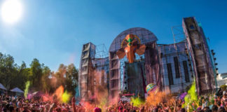 Holi Dance of Colours en CDMX