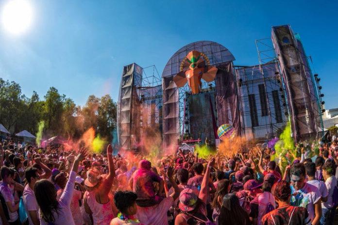 Holi Dance of Colours en CDMX