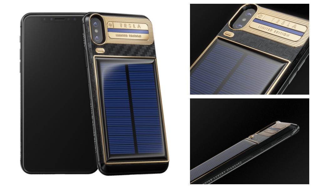 2099? Conoce el iPhone X con batería solar — Qué es esto