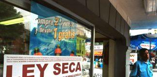 Ley Seca en Iztapalapa durante Semana Santa