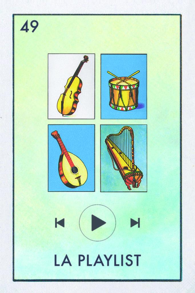 Millennial Lotería playlist
