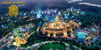 parque temático del Cirque du Soleil