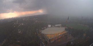 Suspenden actividades en el Aeropuerto por tormenta en la CDMX