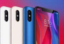 Xiaomi Mi 8 parecido al iPhone X