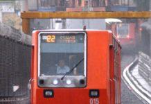 marcha de seguridad en el metro