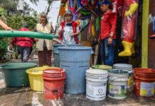 agua a la delegación Iztapalapa