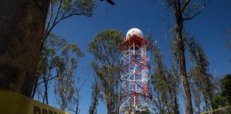 Radar que anticipa lluvias en la Ciudad de México
