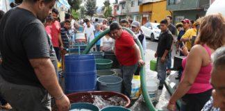 colonias afectadas por el megacorte de agua