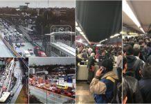 caos por la lluvia en la CDMX