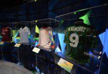 expo de futbol en el Museo Nacional de las Culturas