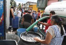 falta de agua en la CDMX