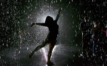 Fiesta de la lluvia en la CDMX