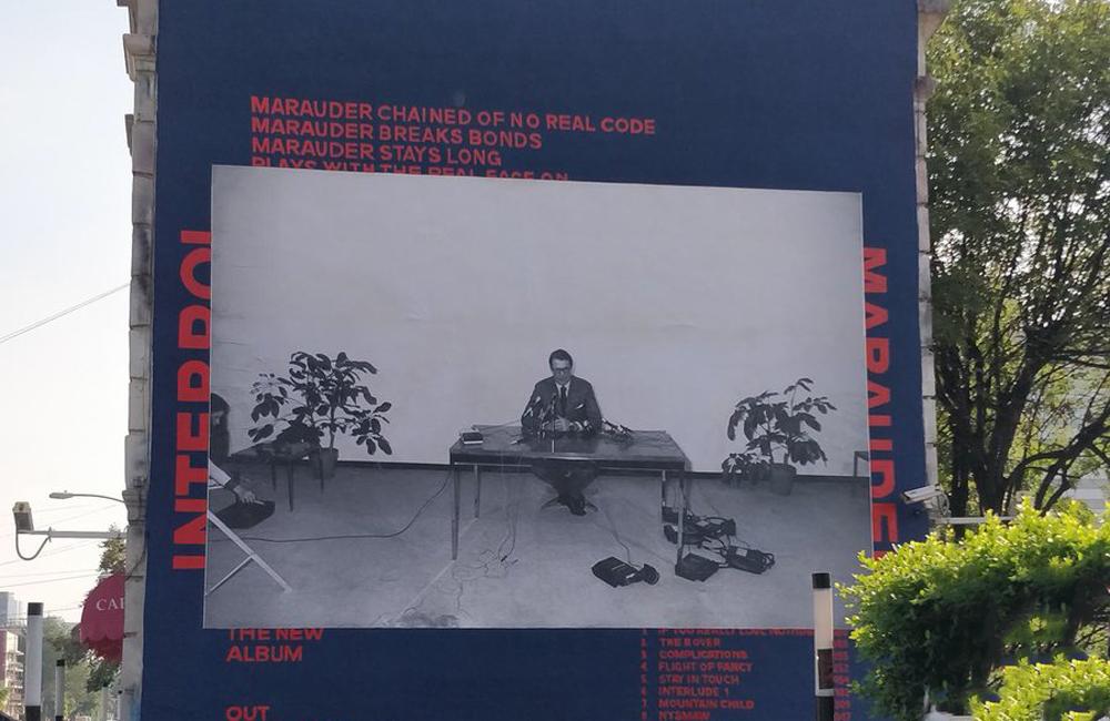 Interpol presenta en México su nuevo disco
